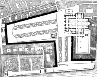 Figure 14: Plan of St Mark's Square. (From [19], p.104])