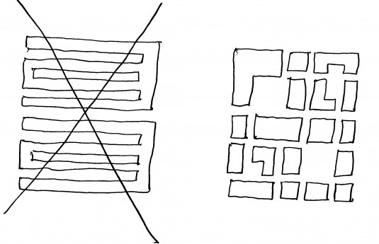 Non-adaptive versus adaptive plans for a group of buildings:
